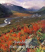 "Book cover — ""Sweden's National Parks"""
